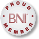 BNI Yorkshire West  Proud Member